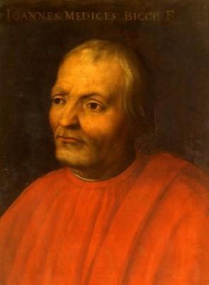 Giovanni de Medici je velmi skromný člověk. Své bohatství nerad dává na odiv.