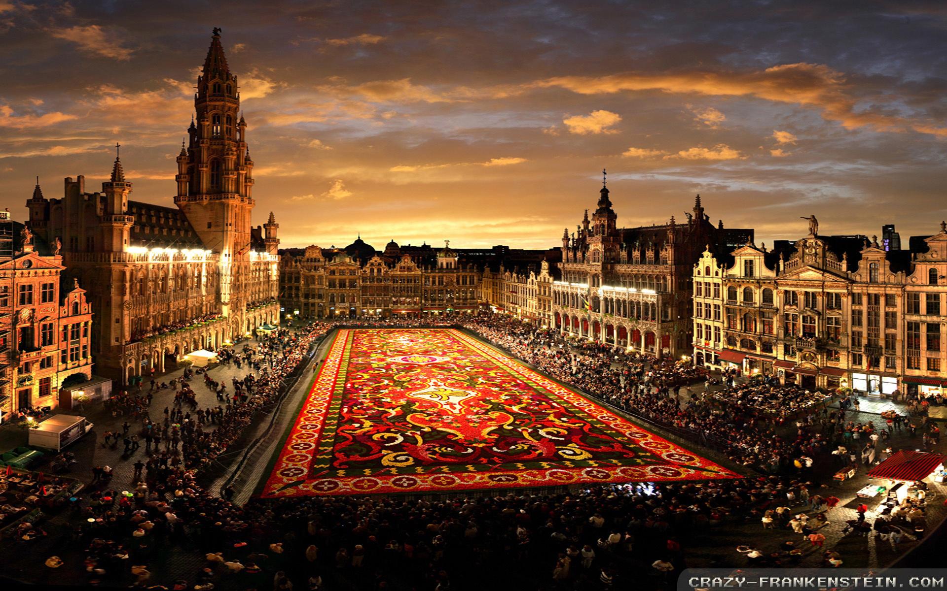 Grande-Place v Bruselu-úvodní
