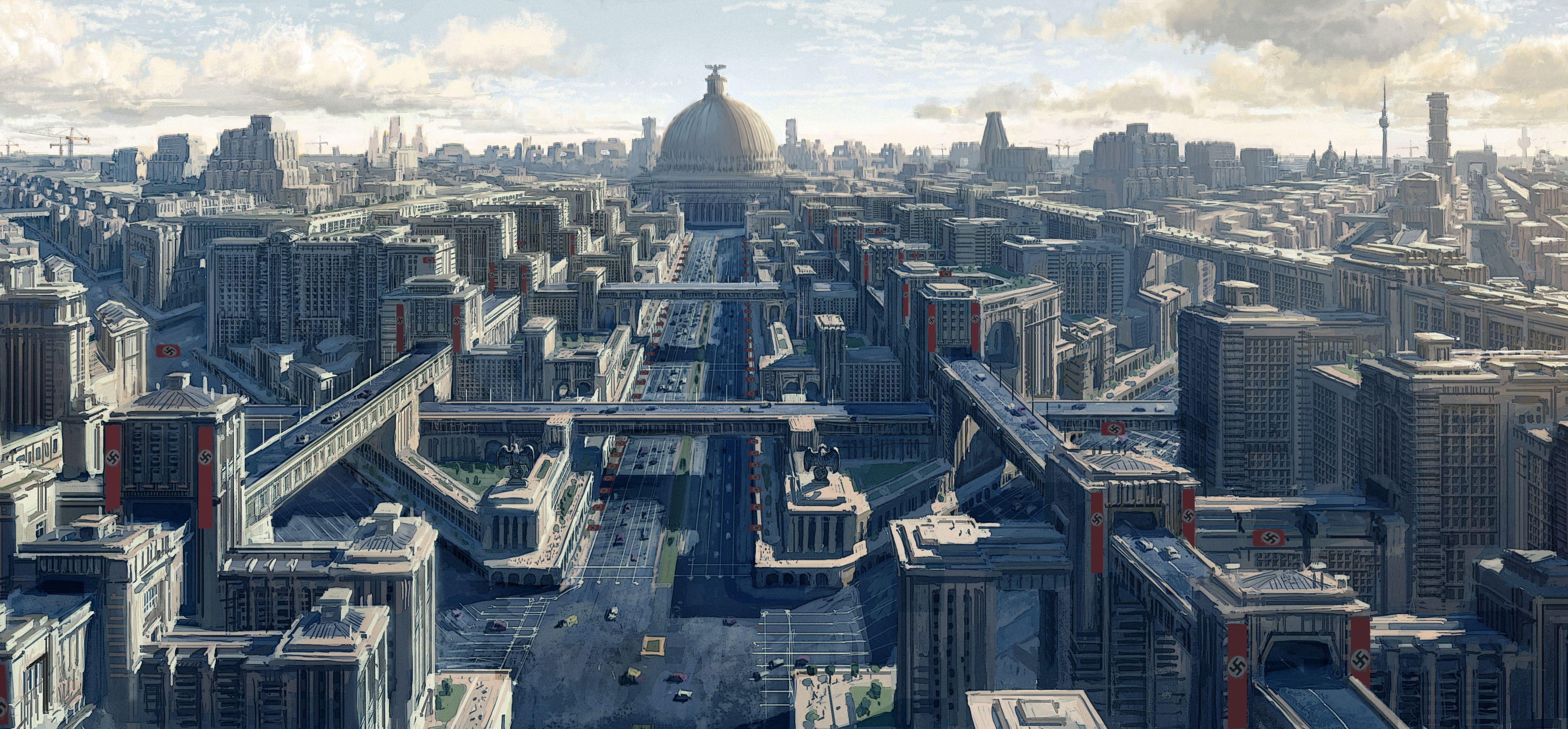 Hlavní město Germanie se mělo pyšnit širokými bulváry a trumfnout všechny evropské metropole.