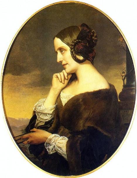 Hraběnka Marie d'Agoult klavíristovy aférky tolerovat nehodlá. Rozejde se s ním.