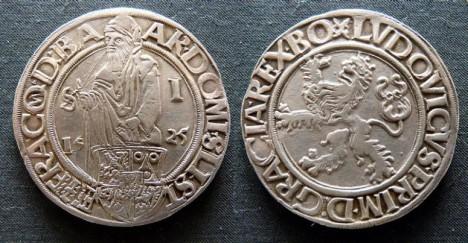 Jáchymovský tolar se stává inspirací pro název americké měny.