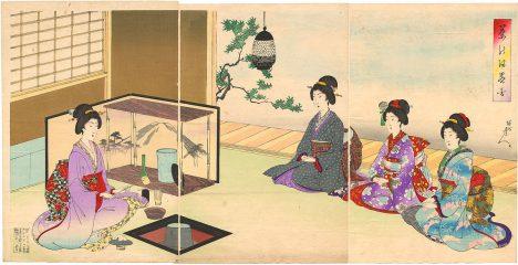 Japonský čajový obřad má velmi přísná pravidla. Nepřipouští se při něm bujaré veselí.