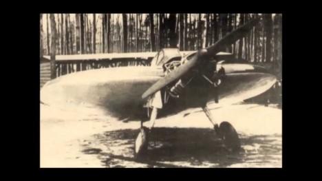 Jedna z dochovaných fotografií letounu AS6