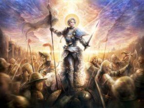 Johanka v bitvě