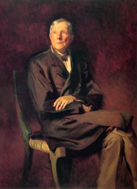 John D. Rockefeller se bojí o svůj život. K posteli si proto připraví revolver.