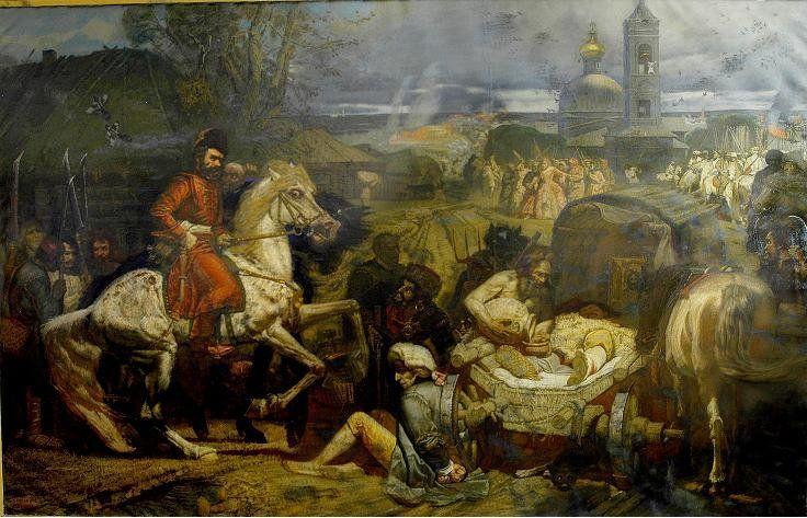 Kozákům se podaří zabrat mnohé pevnosti na ruské hranici