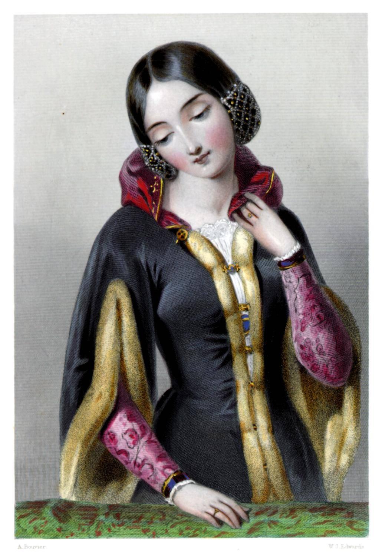 Krásná česká princezna Anna Lucembruská zavádí na anglickém dvoře dobré mravy.