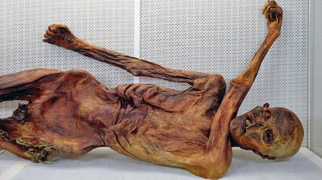 Ledový muž zemřel zřejmě někdy kolem roku 3300 př. n. l.