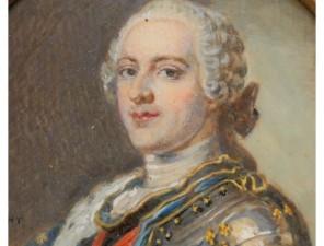 Ludvík XV. nahradí na trůně svého praděda - Krále Slunce Ludvíka XIV.