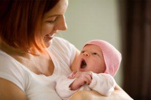 Maminka s miminkem