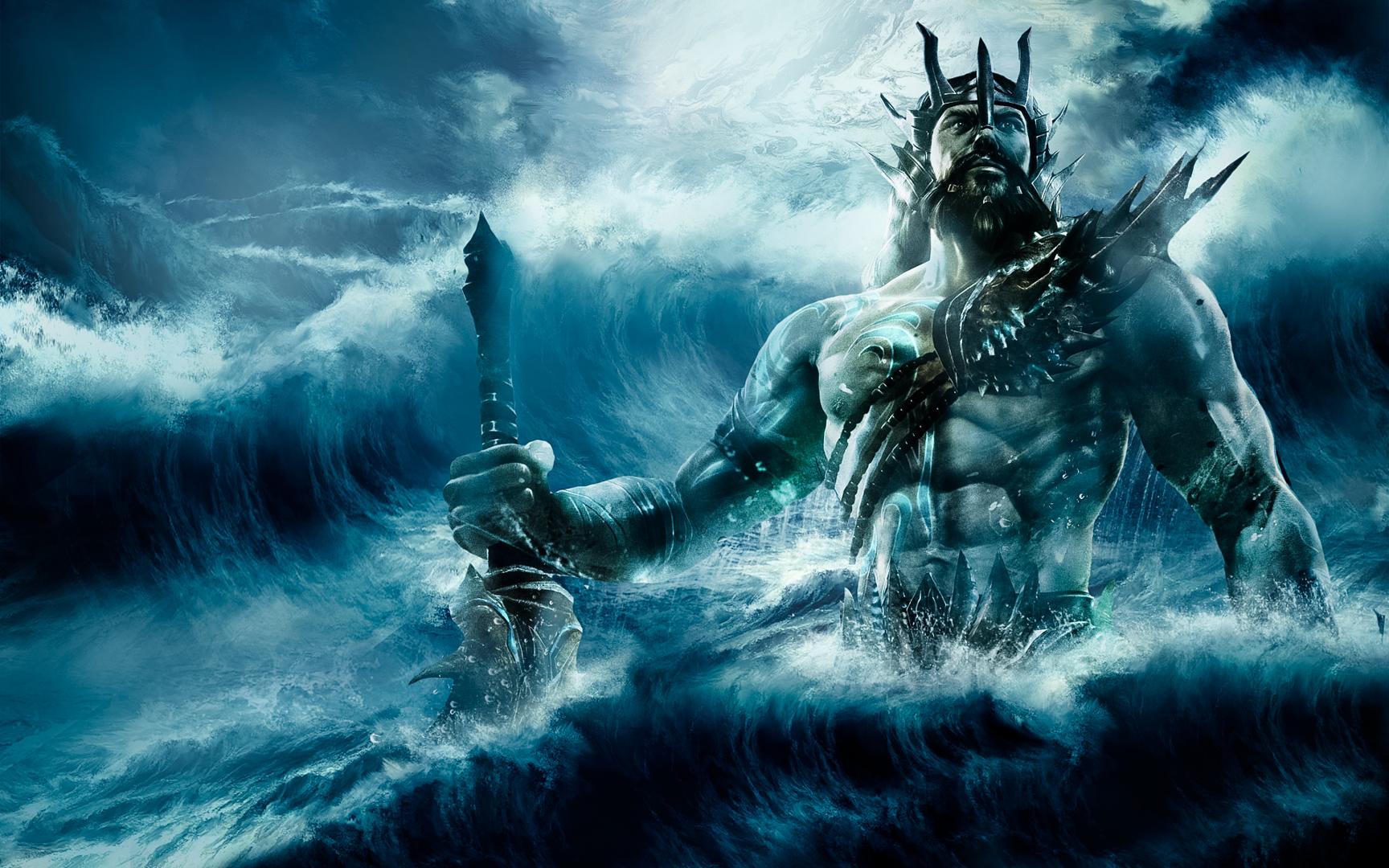 Mnozí obyvatelé si myslí, že katastrofu na jejich hlavy seslal sám bůh Poseidón.