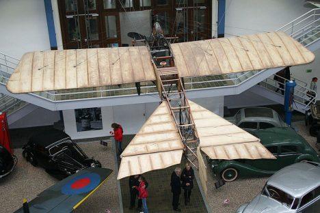 Model Kašparova stroje najdete i v pražském Národním technickém muzeu.