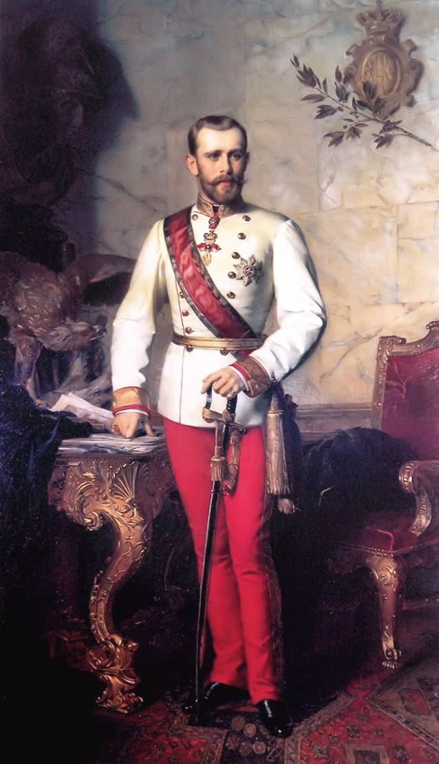 Náručí  prince Rudolfa prošlo mnoho žen. Přesto se snaží se svou ženou o klidné manželství.