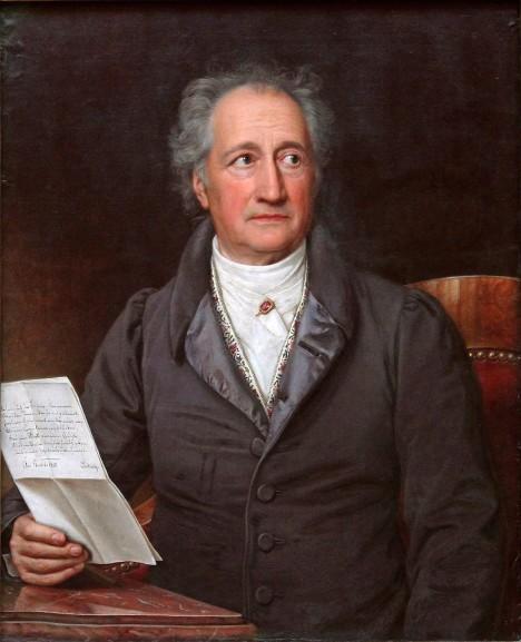 Německý básník Johann Wolfgang Goethe se stává Purkyňovým přítelem a příznivcem.