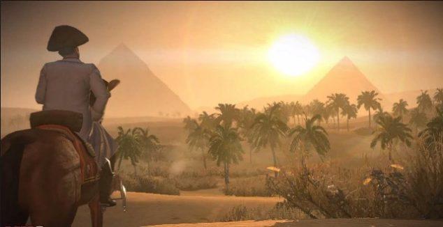 Napoleon a pyramidy