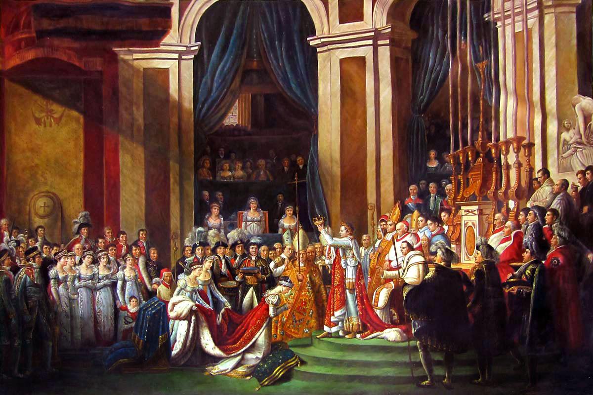 Napoleonova korunovace-úvodní