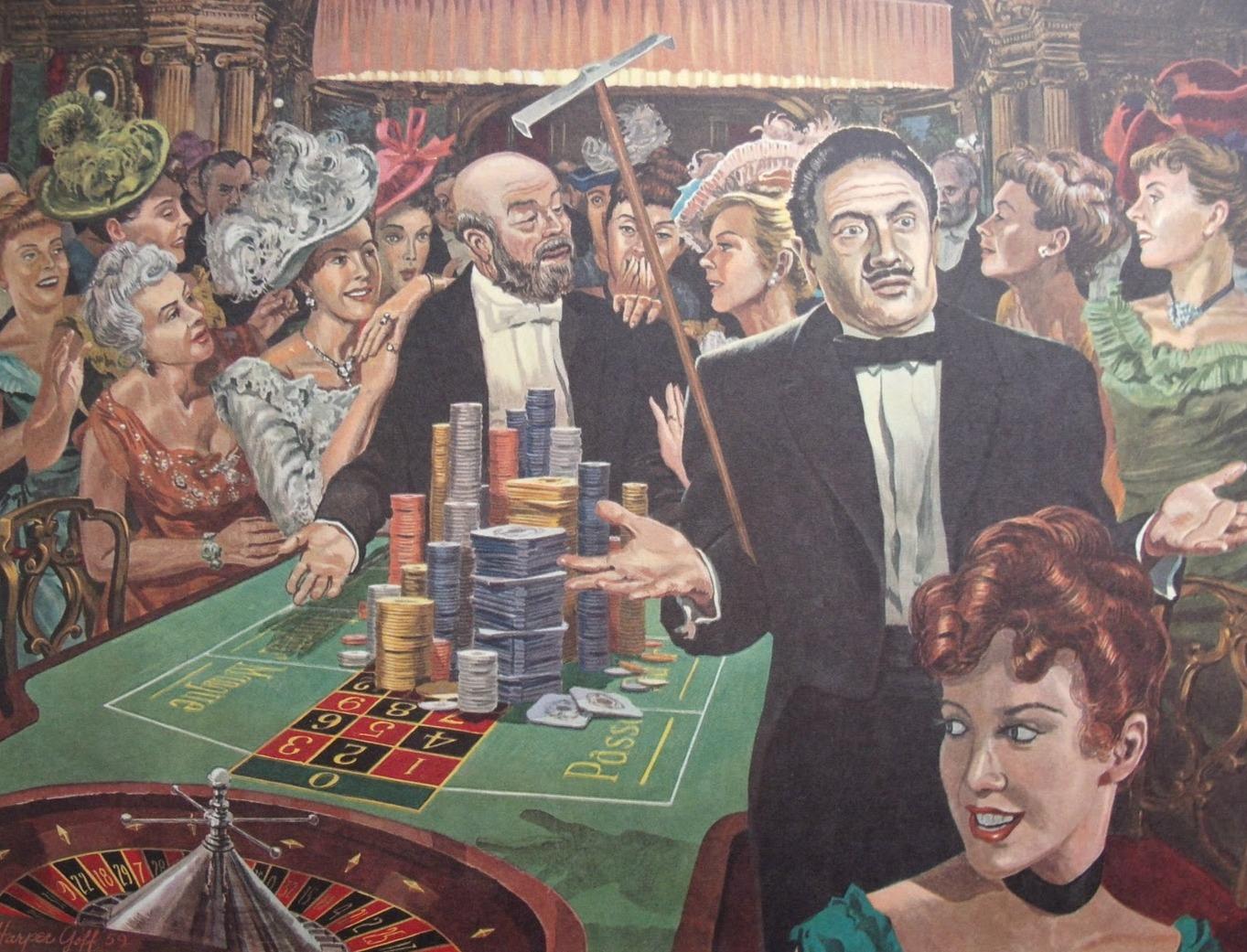 Ne každý má v ruletě štěstí. Sebevraždy neúspěšných hráčů podniku nesvědčí.