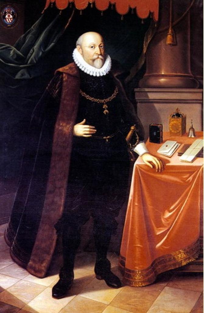 Nejvyšší purkrabí Vilém z Rožmberka kandiduje na polský královský trůn.
