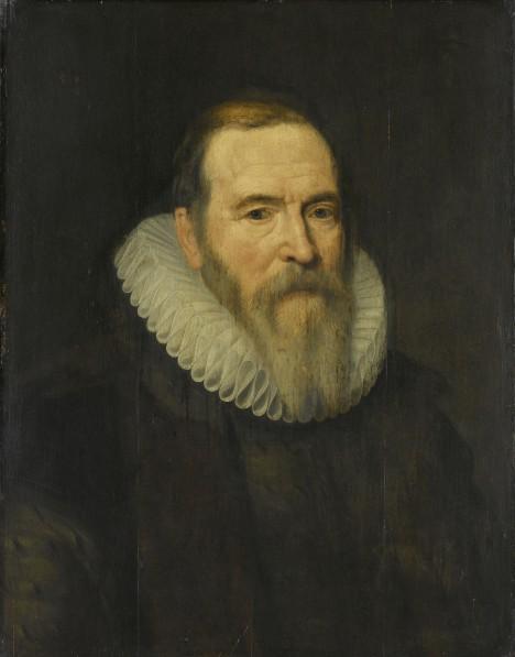 Nizozemský státník Johan van Oldenbarnevelt nechce, aby zisky ze zámořských obchodů byly jenom výsadou malé hrstky lidí.