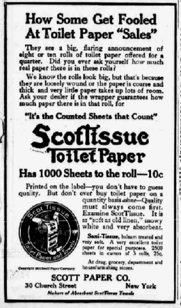 scotts paper