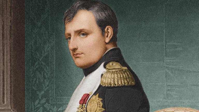 O zástupy ženských obdivovatelek nemá Napoleon nouzi