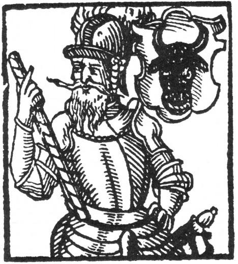 Od Viléma II. z Pernštejna si král půjčuje peníze.