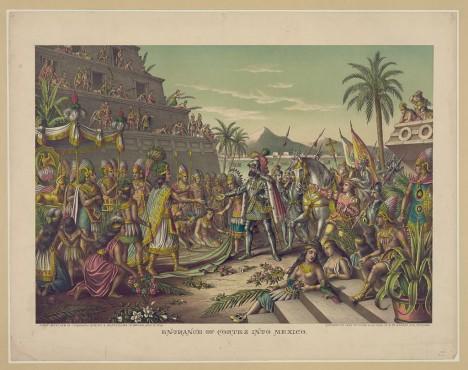 Pád mayské civilizace způsobí v 16. století španělští a portugalští conquistadoři.