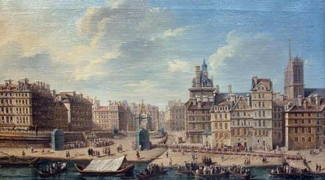 Pařížské náměstí de Greve, kde inkvizice upalovala i tvory chytající myši..