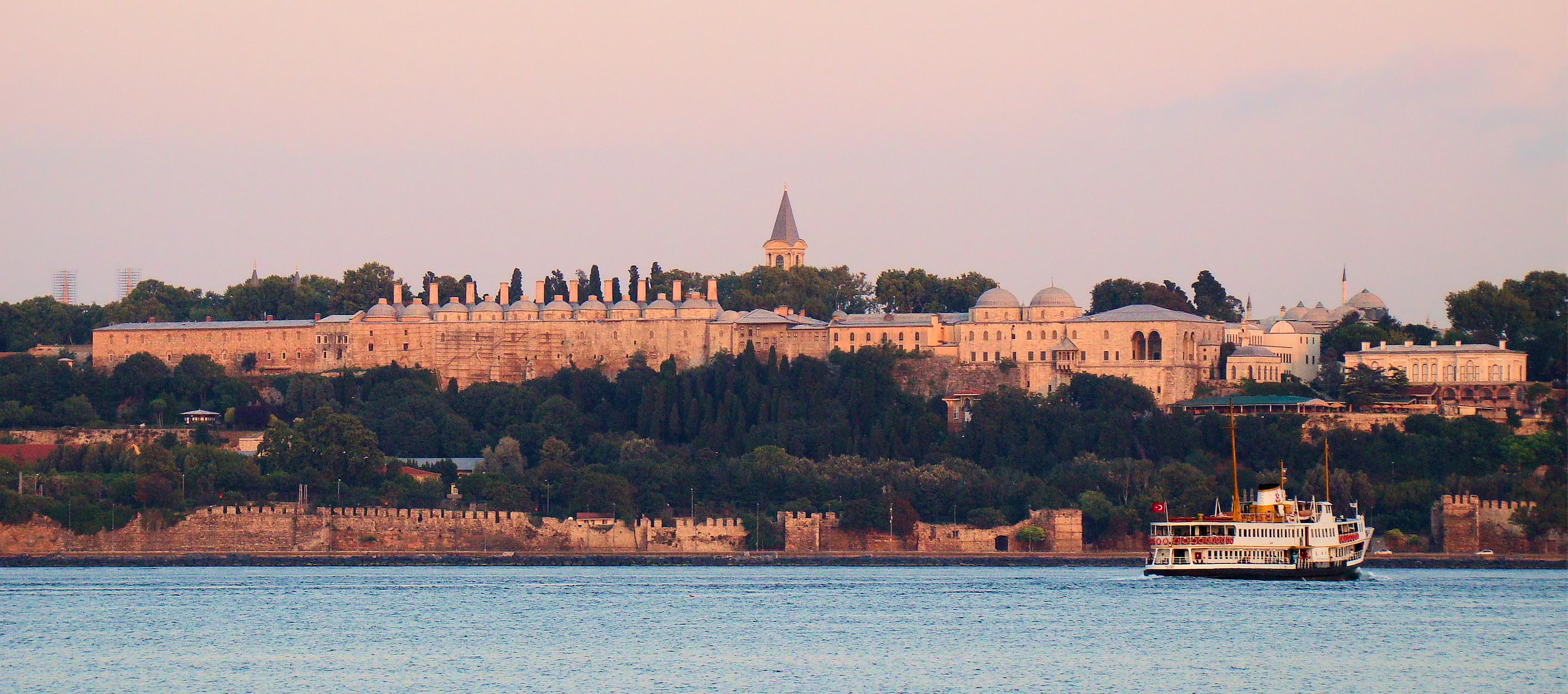 Palác Topkapi-úvodní