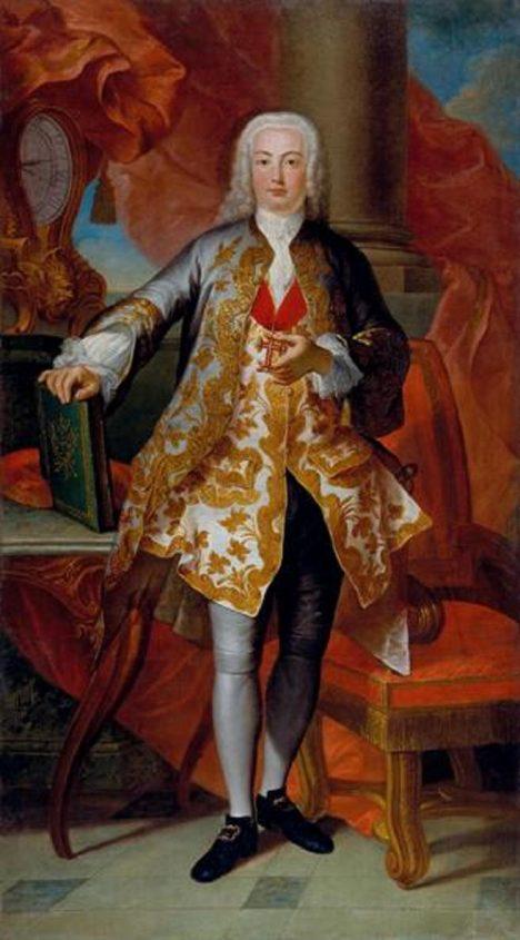 Portugalský král Josef I. unikne zkáze města.