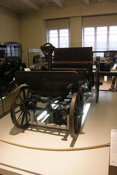Prototyp automobilu dnes najdeme v Technickém muzeu ve Vídni.