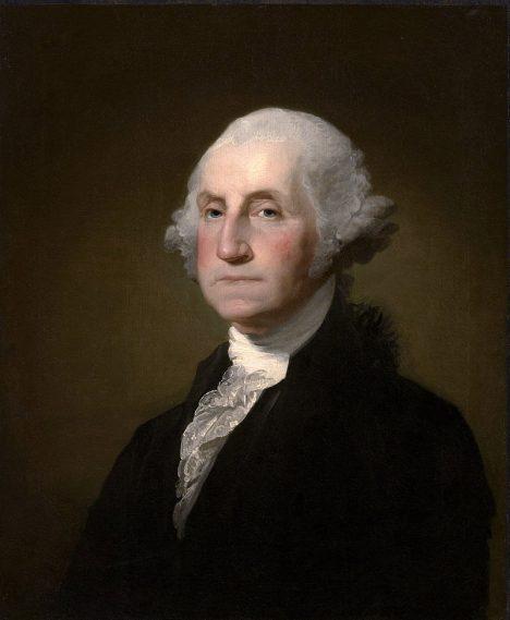 První americký prezident George Washington si oblíbil stroj na výrobu zmrzliny.
