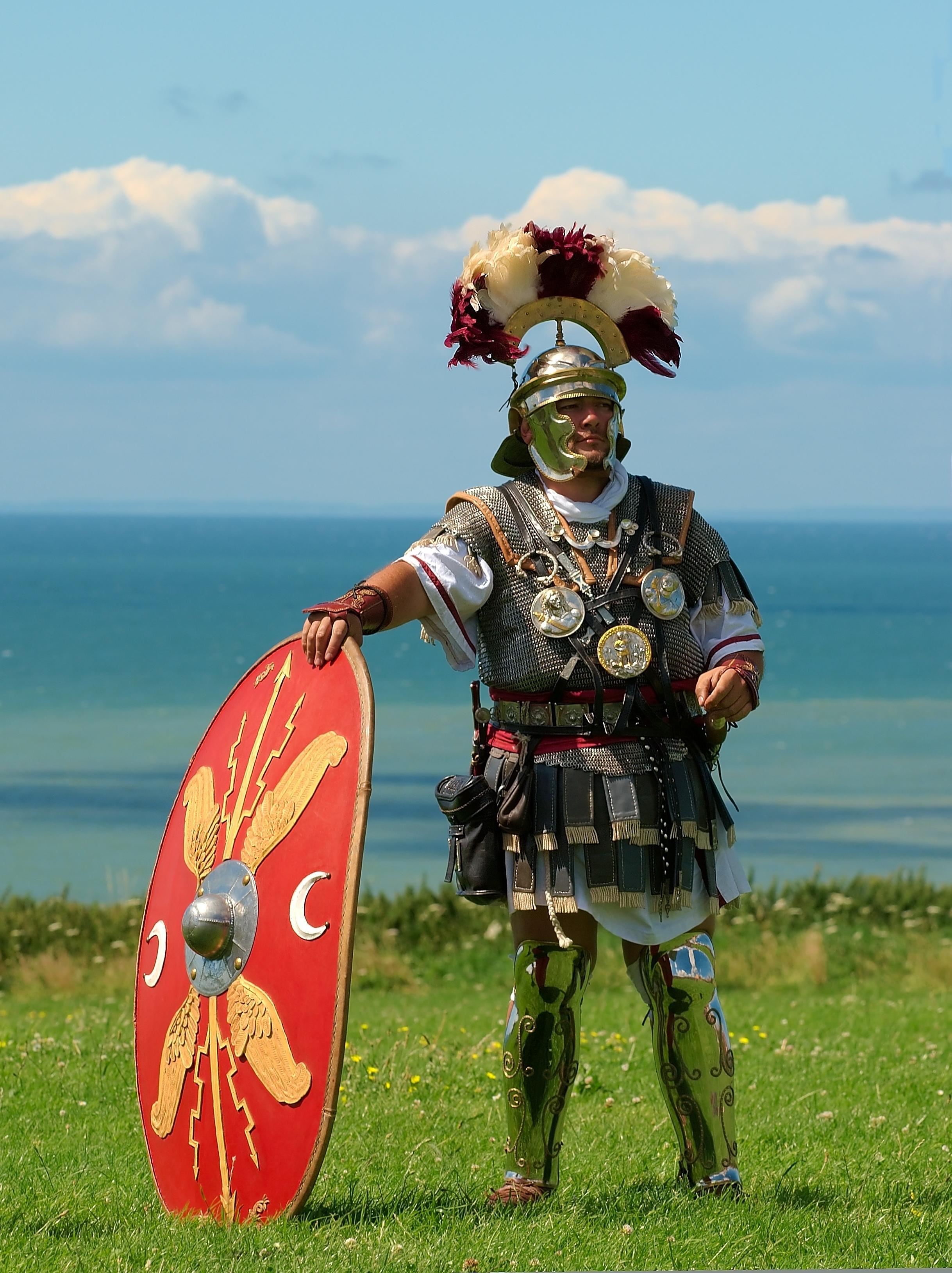 Se vším vybavením si legionáři mohli připadat spíše jak tažné muly.