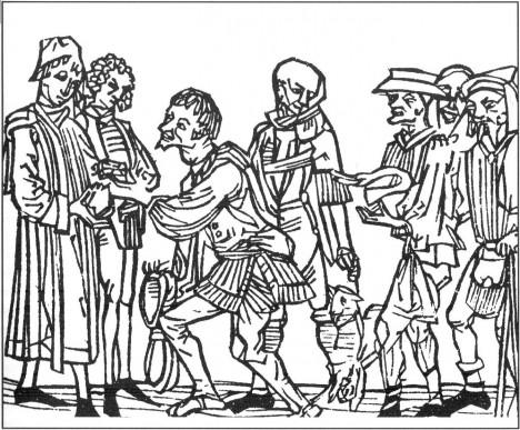 Sedláci jsou povinni odevzdávat církvi desetinu ze své úrody.