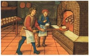 Středověcí pekaři připravovali úctyhodných 20 druhů chleba.