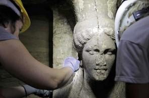 Tajemnou hrobku ze 4. století př. n. l. našli archeologové v září 2014