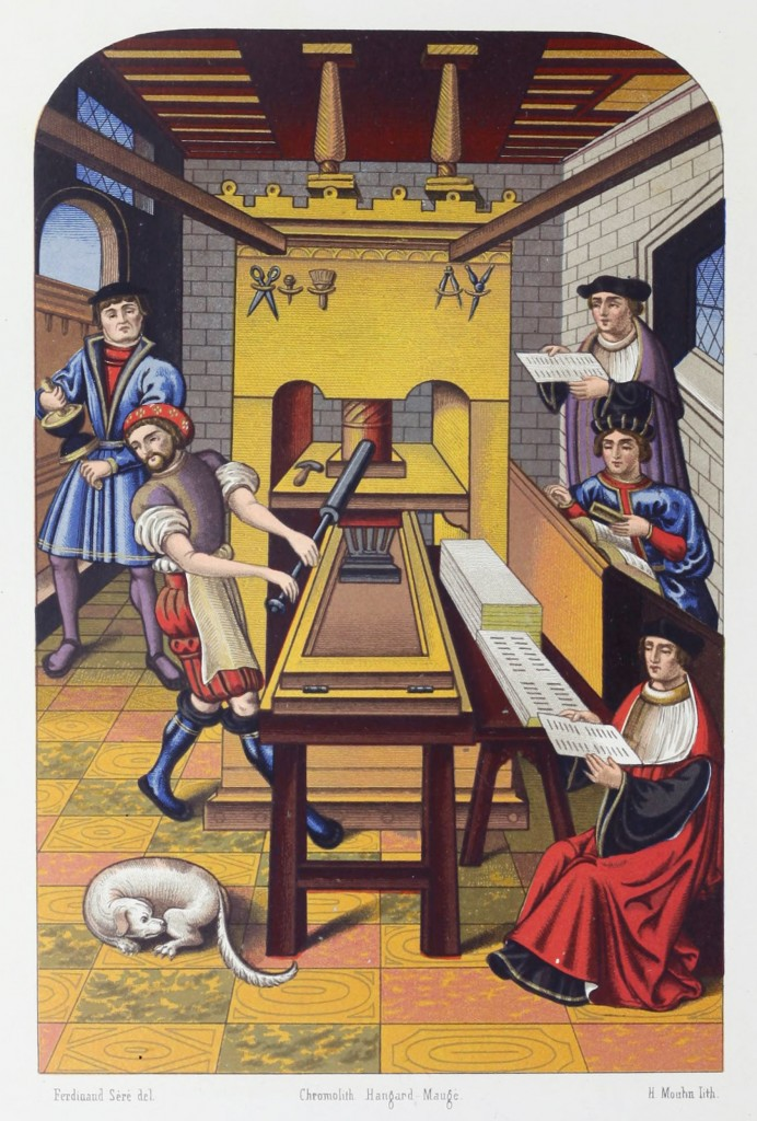 Tiskaři to v 16. století rozhodně nemají jednoduché. Jsou pod přísnou kontrolou.