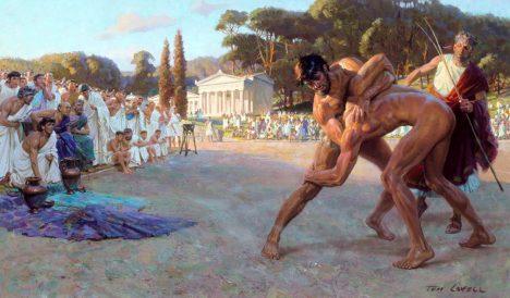 Foto: Rodiště olympiády: Pohřbilo řeckou Olympii mohutné tsunami?