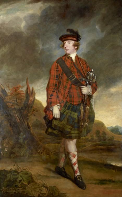 Typický skotský oděv se prý ve formě podobné té dnešní poprvé objevuje až v 1. polovině 18. století.
