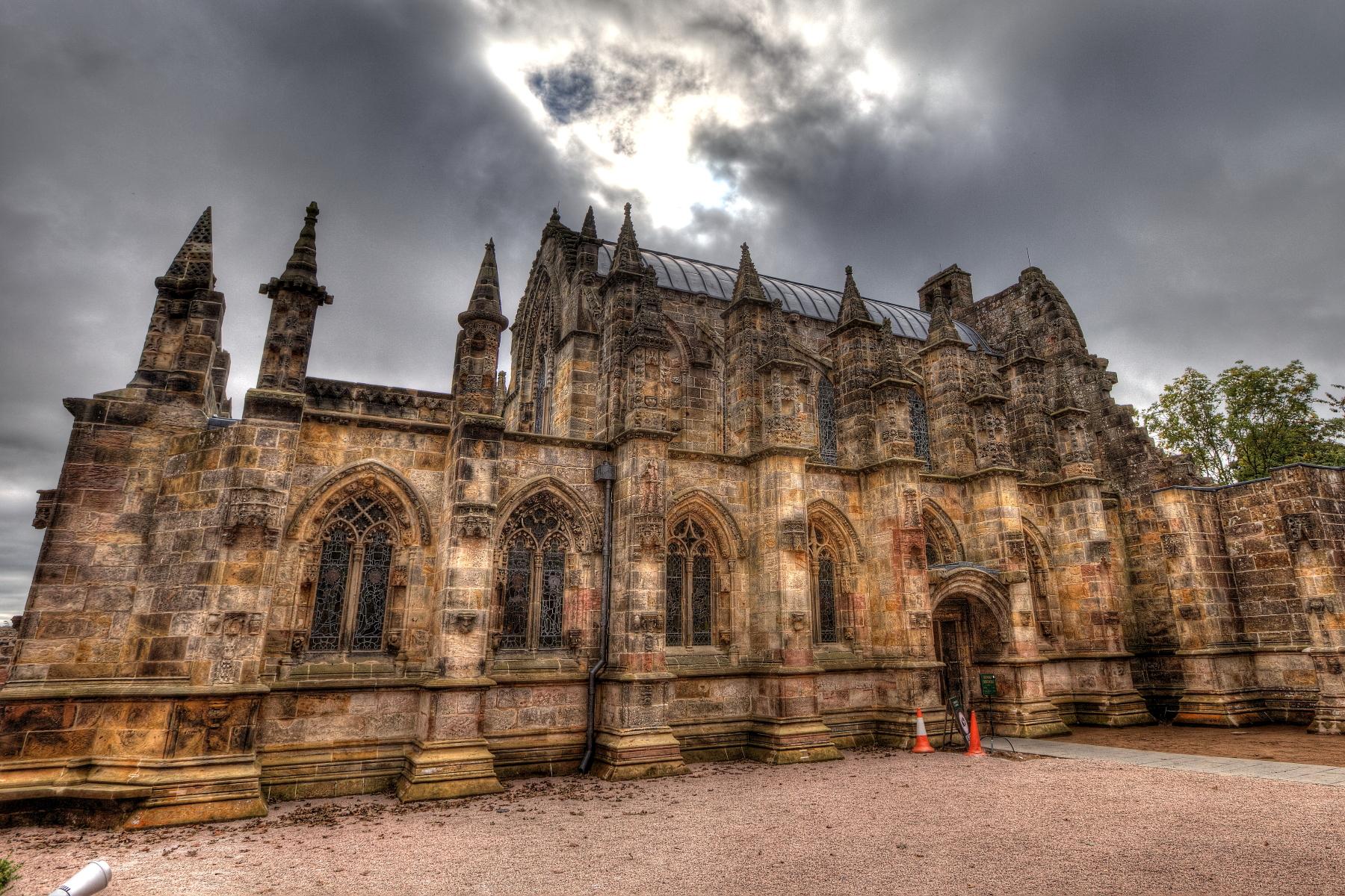 Výstavba kaple započala v polovině 15. století