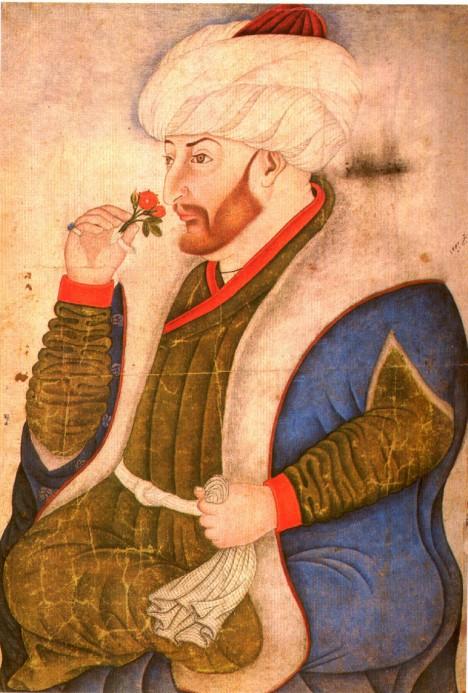 Výstavbu nádherného paláce nařídí bojovný sultán Mehmed II.