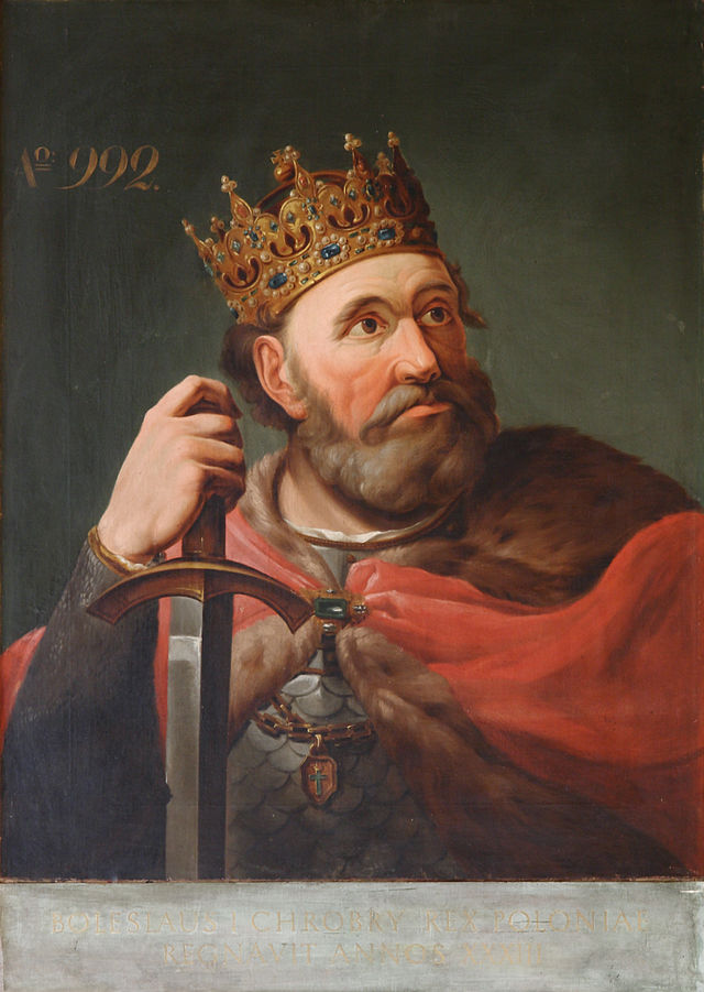 V letech 1003 až 1004 vládne Boleslav I. krátce také v českých zemích