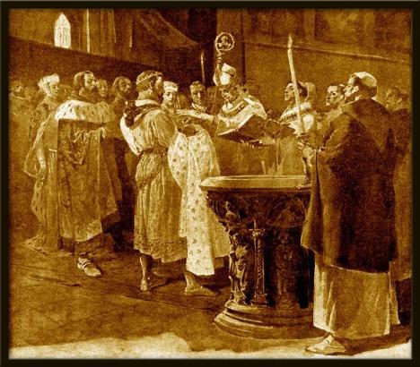 V roce 1316 stihne jako rádce Jana Lucemburského ještě pokřtít jeho maličkého synka, budoucího římského císaře Karla IV.