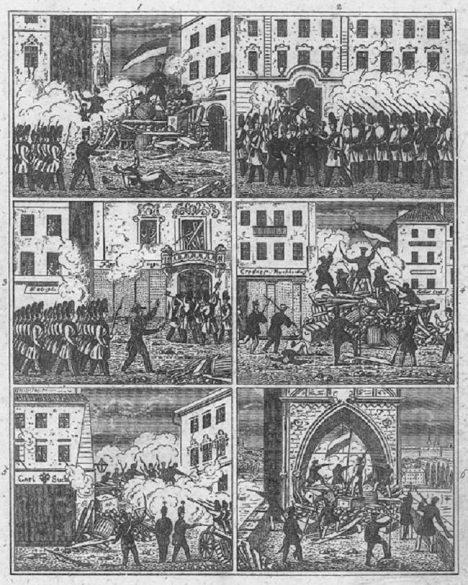 Foto: Rozzuřený generál: Za smrt manželky se Pražanům krutě pomstil!