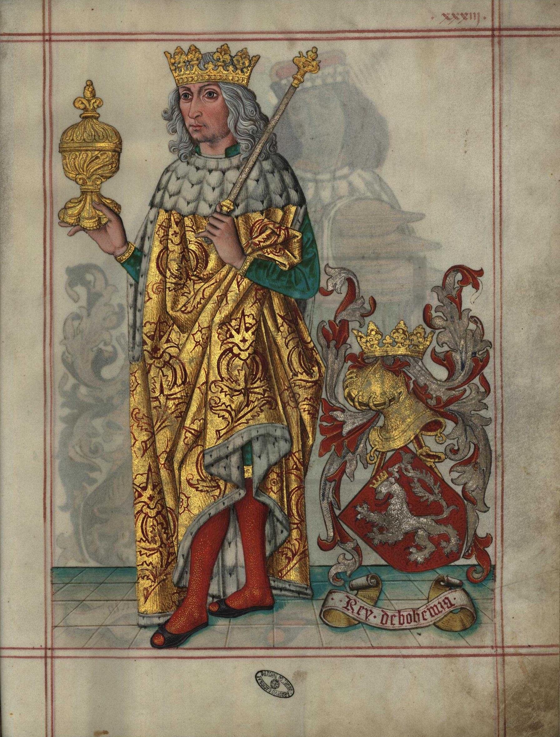 Vladislav II. Jagellonský musí dávat návštěvám jako dar svoje oblečení.