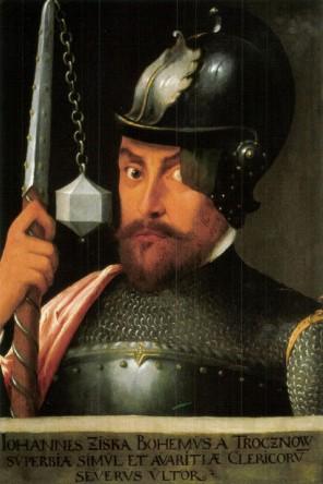 Vojevůdce Jan Žižka si s přehledem poradí i s několikanásobnou přesilou.