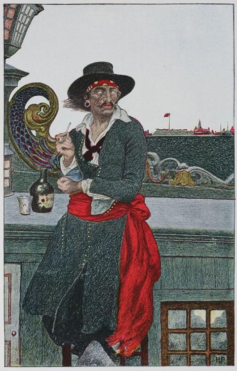 William Kidd je popraven roku 1701 za pirátství. Tajemství o umístění svého pokladu si vezme do hrobu.