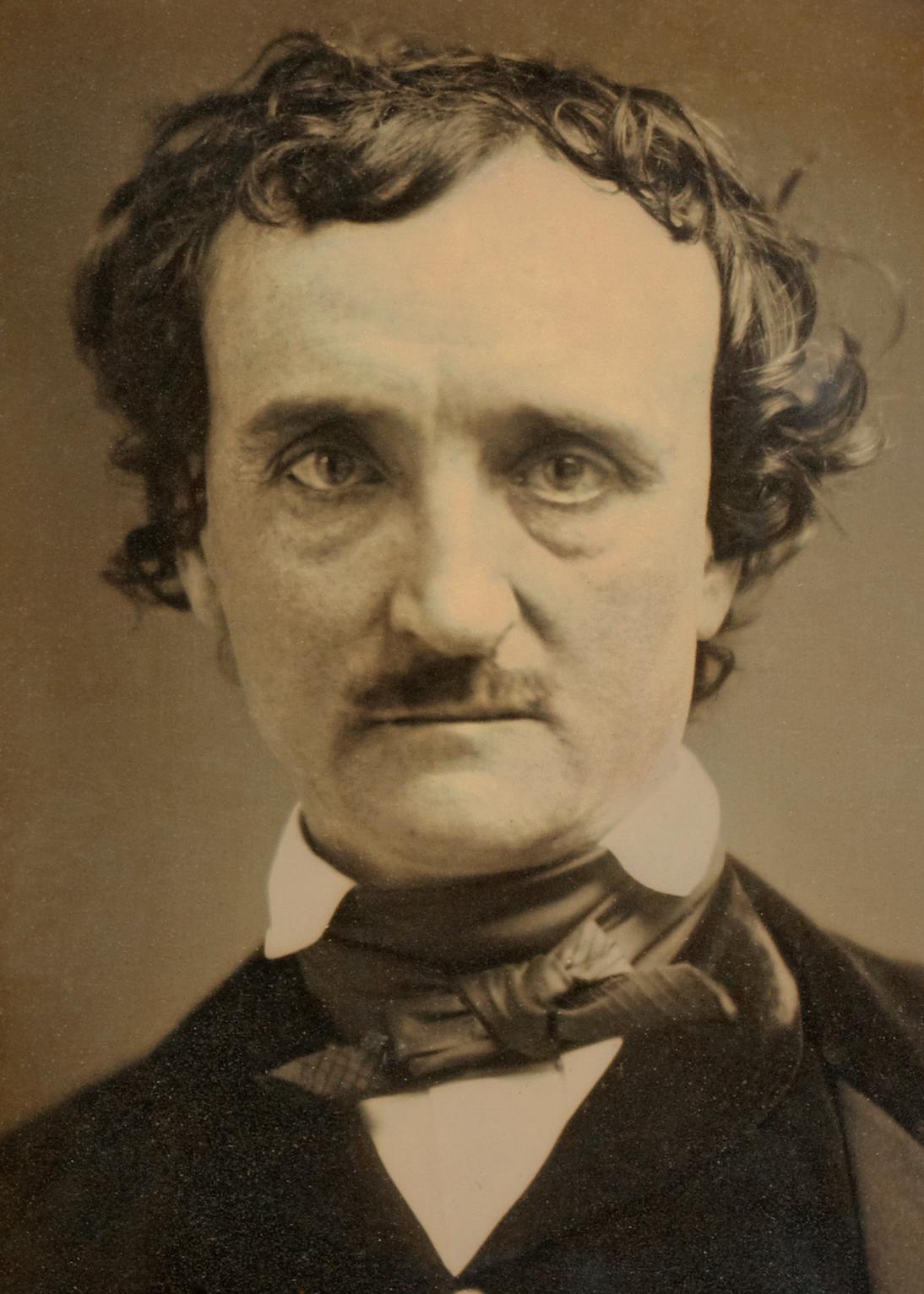 Zakladatel hororu, americký spisovatel Edgar Allan Poe se utápí v depresích.