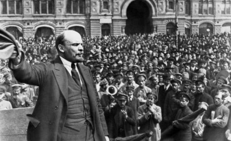 Foto: Slavná televizní mystifikace: Lenin se stal houbou!