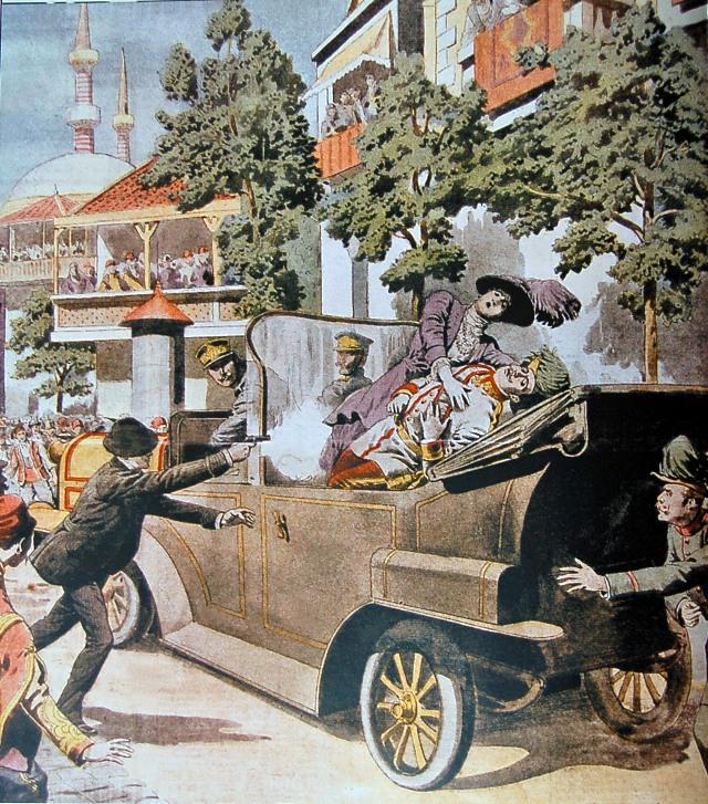 atentát Sarajevo